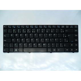Teclado Itautec A7520 W7535 W7545 W7550 Infoway Moldura Ç Br
