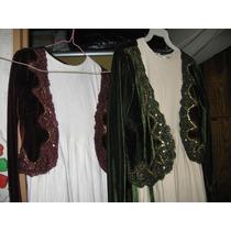 Vestidos Niña Pana Licrada, 8-10 Y 10-12 Años Aprox, Impeca