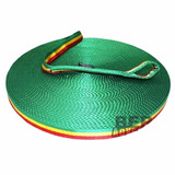 Fita Tubular Rasta 25mm - Slackline / Highline / Longline