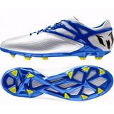 Botines adidas Messi 15.1 Fg White/blue Profesional Promo!!