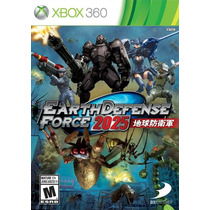 Earth Defense Force 2025 Xbox360 Lançamento! Americano!!!