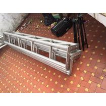 Estruturas Box Truss Meia Cana Com Curva Aluminio E Base Q30