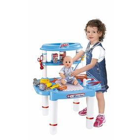 Minha Bancada De Médico Com Kit P/ Crianças - Unissex 4893