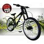Bicicleta 26 Downhill 24v Shimano Doble Corona Aros Triples