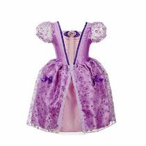 Vestido De Festa Fantasia Princesa Sofia. Pronta Entrega