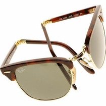 Ray Ban Rb 2176 Folding Clubmaster Evolution Tortoise Rb2176