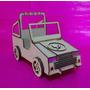Auto Jeep Para Muñeca Barbie De Madera Listo Para Pintar !!!