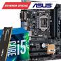 Kit Intel I5 6400 Placa Mãe B150m-c/br Ddr4 8gb Hyperx 2133
