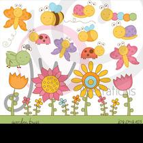 Kit Imprimible Insectos De Jardin 1 Imagenes Clipart