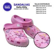 Sandalias Crocs Hello Kitty | #nt60001