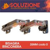 Bisagra Rinconera 35 Mm Codo 0 Mueble Acero Practico Util