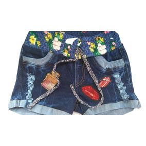 Shorts De Mujer Tallas 10 A 16 100% Colombianos