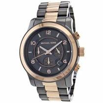 Relógio 078 Michael Kors Mk8189 Unissex Cinza Bronze 45mm