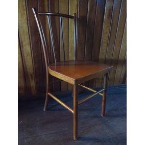 Cadeira Em Madeira Vergada Marca Pigatto Paris Nova