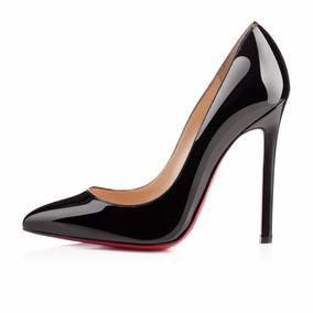 Sapato Christian Louboutin 10 Cm Original Patent Na Caixa