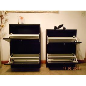 Botinero-zapatero-mueble Organizador-2 Estantes-p/12 Pares