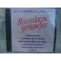 Jeca Mineiro E Luizinho - Recordações ... - Cd Nacional