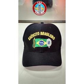 Boné Exército Brasileiro Bordado Algodão