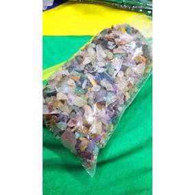Cascalho De Pedras Preciosas P/artesanato Meio Kilo Atacado