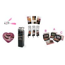 Kit Make-up Para Olhos, Rosto E Boca Com 536 Peças