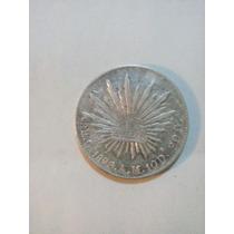 Moneda 8r. C 1896 A.m. 10 D 20 G.