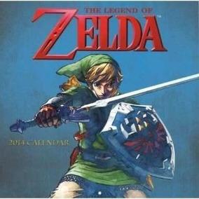 Calendario De Pared Oficial 2014 De Legend Of Zelda - Nuevo