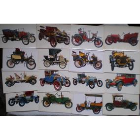 13 Postales Autos Clásicos Antiguos Cachilas - Años 60 C/u