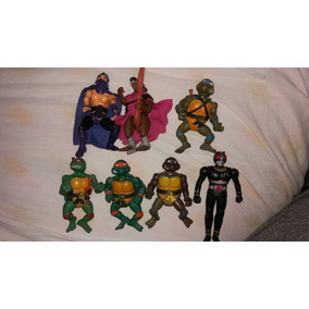 Bonecos Tartarugas Ninja E Black Kamen Anos 90 Colecao