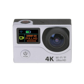 Câmera Esportiva Action Camera 4k Ultra Hd H3r Cor Prata