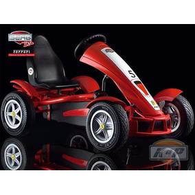 Go Kart De Pedales Montable Carrito Adulto Ferrari