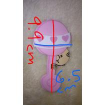 Nena Baby Shower Rosa Ñiña Varios Foami 3d Decorar Remate