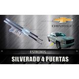 Estribos Para Chevrolet Silvarado Doble Cabina (par)