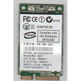 Placa Wifi Original Note Intelbras I268