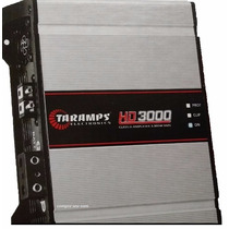 Módulo Taramps Hd 3000 3000w Rms Compact 1 Canal 2 Ohms