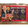 1 Set Con 4 Monedas De Coleccion Bicentenario Estados Unidos