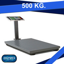 Báscula Plataforma 500 Kg / 50g Rhino Bapca-500 Digymex