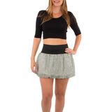 Mini Falda Alta Estampados Varios Ideal Para Croptop Naiboa