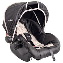 Bebê Conforto Kiddo Cosycot Carrinho Fox Preto E Bege 404f