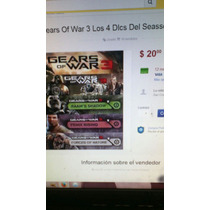 Seasson Pass Los 4 Dlcs De Gears Of War 3 Entrega 20minutos