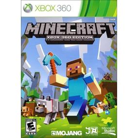 Minecraft 100% Em Português Mídia Física Xbox 360