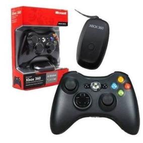 Controle Xbox 360 Original Com Receiver Original Microsof