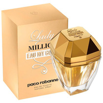 Perfume Paco Rabanne Lady Million Eau My Gold Toilette 80ml