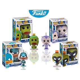 Duck Dodgers Set 4 Piezas Funko Pop Caricatura