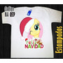 Franelas Navideñas My Little Pony