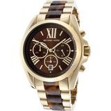 Relógio Michael Kors Mk5696 Dourado Tartaruga - Modelo Novo