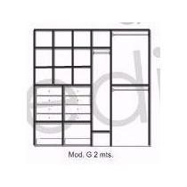 Interior De Placard Modulo G 200x200x45 Color A Eleccion