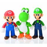 Oferta Super Mario Grande 3 Bonecos Super Size Original