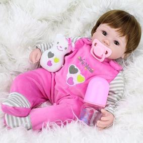 Boneca Bebê Reborn Larinha Pronta Entrega No Brasi