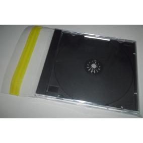 100 Envelopes Plasticos Com Aba Adesiva Para Cd