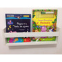 Prateleira Livros Infantil 50x15x10